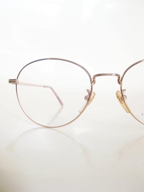 185aad26555 Gold Round Wire Rim Glasses - Bitterroot Public Library