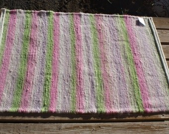 Spring Colors Alpaca Rug