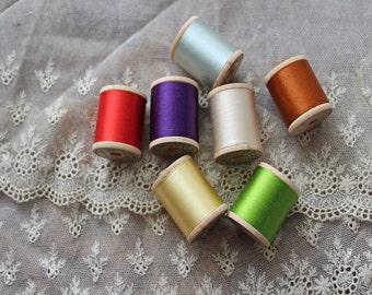 Vintage Silk Thread