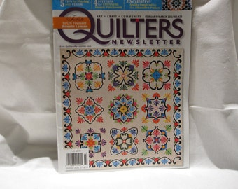Quilters Newsletter magazine, quilting patterns, how to quilt, quilting inspiration