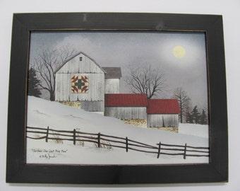 "Christmas Star Quilt Block,Barn Quilt Wall Art, Billy Jacobs,181/2""x141/2"", Handmade Distressed Frame"