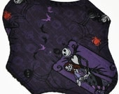 Liner Core- Nightmare Before Christmas Reusable Cloth Petite Pad- 6.5 Inches