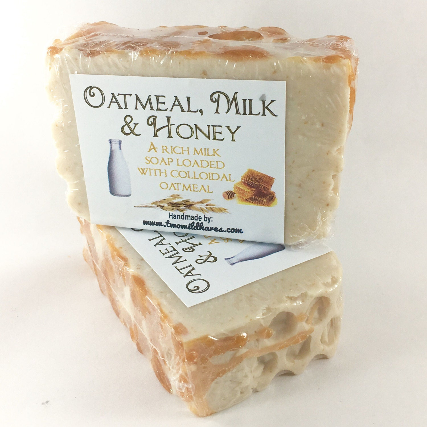 OATMEAL, MILK & HONEY, Milk, Colloidal Oats Soap, 3.5 oz