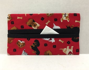 Puppy Love Tissue Cozy/Gift Card Holder/Party Favor/Wedding Favor