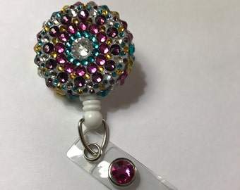 Pretty Multicolored Badge Holder