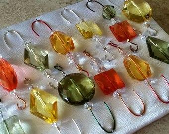 Earthtone Assortment -  Ornament Hanger Hook - FREE SHIPPING