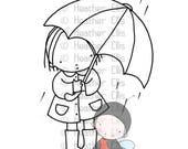 P 109, parapluie, pluie,