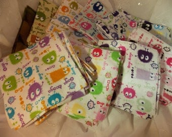 Ooga BoOga Fabric Square Bundles~Color Assortments Available~DIY Quilting Project~Quilting Squares