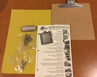 Great Miniature Clipboard Kit!  - Supplies & Instructions! - Free US Shipping