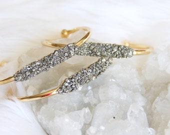 Pyrite Dust Bracelet