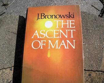 Vintage Book  J. Bronowski The Ascent Of Man