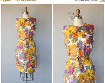 25% OFF FLASH SALE.. 1960s Dress   60s Dress   1960s Floral Dress   60s Shift Dress   1960s Spring Dress   60s Day Dress (medium)