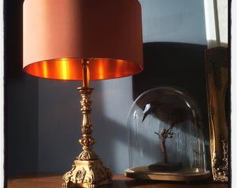 Orange lampshade   Etsy