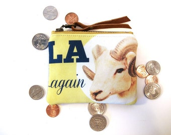 Los Angeles Football Coin Purse Small Pouch Rams