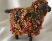 RESERVED FOR LINDA A Very Unique Curly Wool Sheep