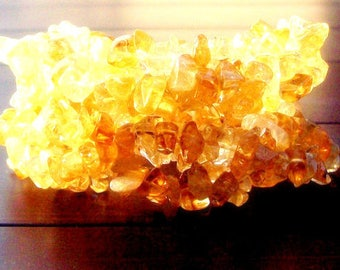 NATURAL BEAUTY ll - Beautiful citrine bracelet, boho, tribal, native, success, prosperity stone