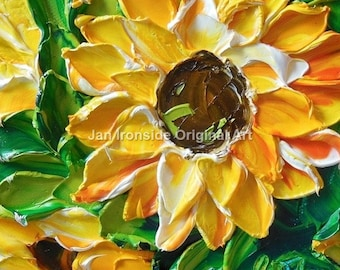 Flower Painting, Oil Painting, Original Small oil painting Impasto Flowers , Mothers day