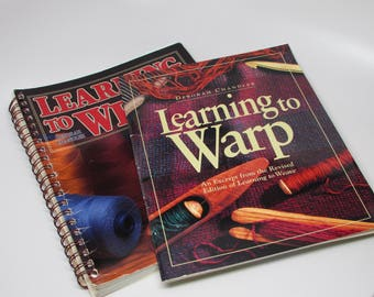 Learning to Weave:  Spiral bound with Revised Edition Supplement - used