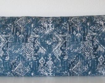 Pillow Cover - Navy - Boho chic - Sioux - Tribal - Decorative pillow - Throw - Lumbar - Body Pillow Case
