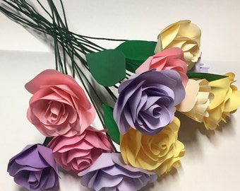 paper flower bouquet, paper bouquet,bells of ireland, paper foliage, wedding bouquet, paper flower arrangement, bridesmaid bouquet
