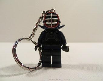 Lego minifigure kondo keyring keychain