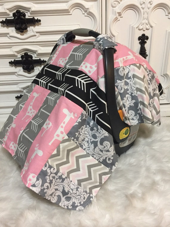 car seat cover / carseat canopy / OOAK / carseat cover / car seat canopy / infant car seat canopy / infant car seat cover /deer /RTS