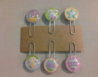 Easter Paperclip Bookmarks set of 6 (247257)