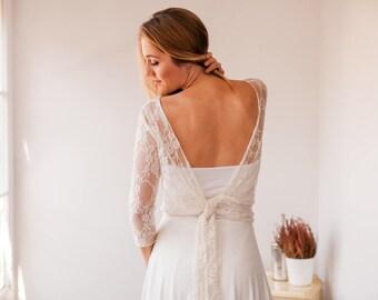 Lace long sleeve wedding dress, wedding dress, long sleeve wedding dress, lace wedding dress, bohemian wedding dress, lace sleeves dresses