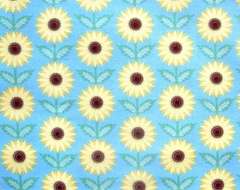 In The Beginning Americas Garden Deco State Kansas Sunflower - 1/2 Yard and Fat Quarters            04/2017
