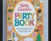 1960 Betty Crocker's Party Book Third Printing HC recipes Party Planning Design