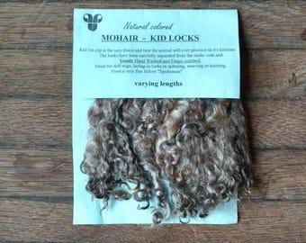 Natural Gray - Kid Mohair