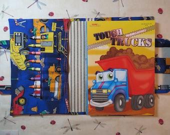 BIG TRUCKS Take Everywhere Coloring Book