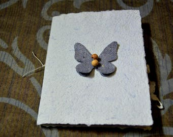 Butterfly Handmade Paper Journal