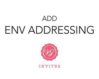 Add Envelope Addressing
