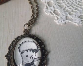 The little prince vintage necklace