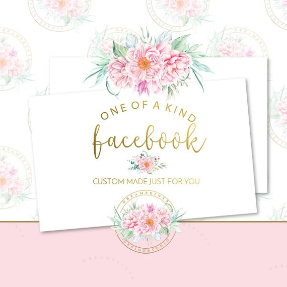 Custom-One Of A Kind Facebook Set | Business Branding | Business Package | Etsy Shop | Small Business | Etsy Graphics | Etsy Designs