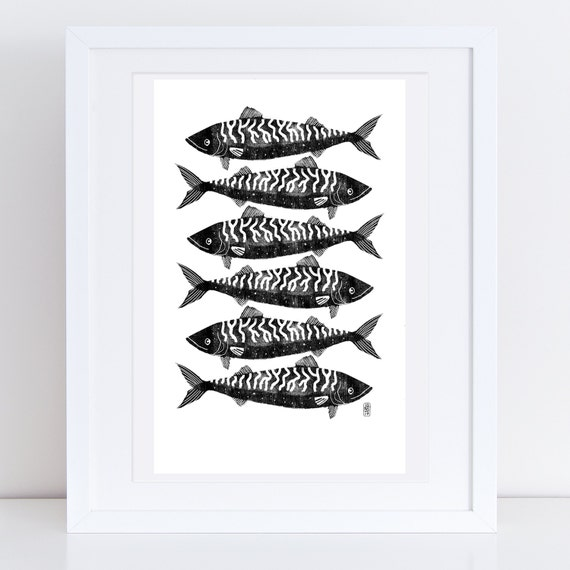 Mackerel 2017 - Signed print