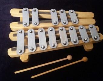 Xylophone, Glockenspiel