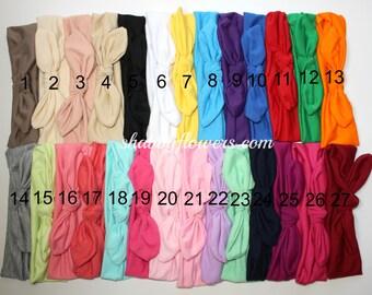 Baby Head Wrap, Baby Girl Headband, Baby Turban, Knot Headband- Choose your color -6 months+