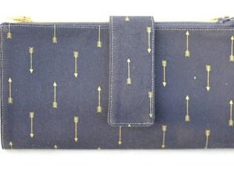 Navy Cash Wallet