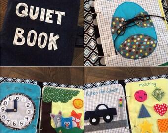 Quiet book - Boy