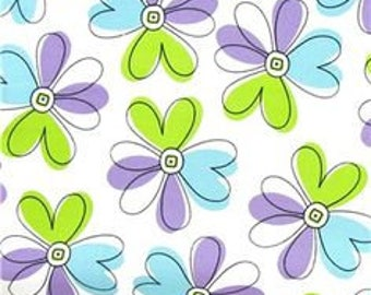 Floral Fabric by Brother and Sister Design - 1/2 yard