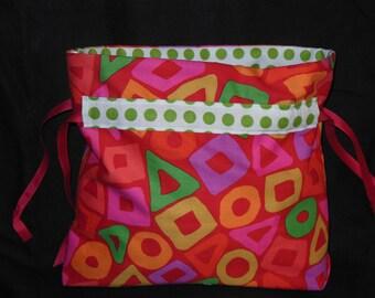 Bright and Cheerful Drawstring Bag