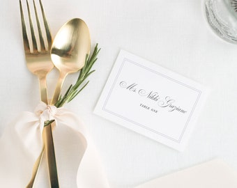 Simply Classic Place Cards - Deposit