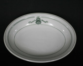 oval radisson hotel bowl by burley and co chicago made in germany