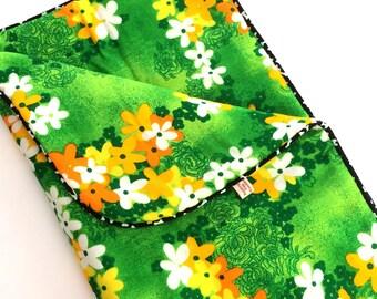 Vintage Green Aloha Barking Dog Blanket