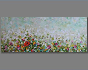 Oil Painting Abstract Oil Painting Modern Painting Contemporary Painting Palette Knife Painting Oil Artwork Landscape Painting