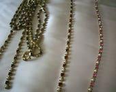 1940s rhinestone and pearl trim