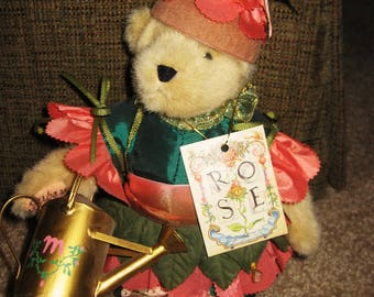 Artist Signed Rose Muffy Vanderbear in box-mint