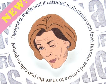 Arrested Development - Lucille Bluth 'Winking' Pin